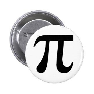 Pi Pinback Button
