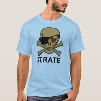 Pi Pirate Funny Math Geometry T-Shirt Nerd Geek