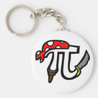 PI Pirate Keychain