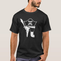 Pi Pirate Mathematic Math Teacher Student Gift T-Shirt