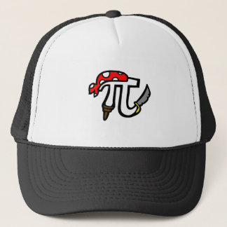 PI Pirate Trucker Hat