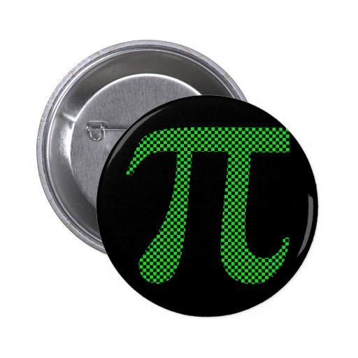 Pi Pixel Geek Checkerboard Button