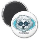 Pi Polar Bear Fridge Magnet