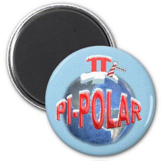 PI POLAR (NORTH POLE) MATH JOKE MAGNET