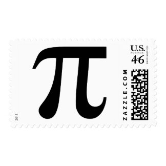 Pi Postage Stamp