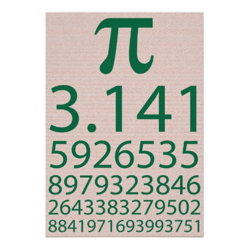 Pi! Poster