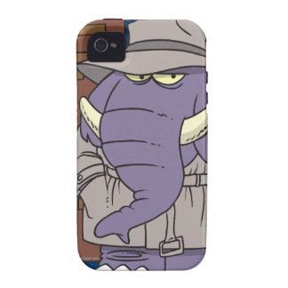 PI private eye spy sneaky elephant iPhone 4/4S Covers