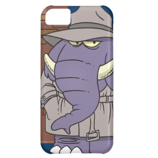 PI private eye spy sneaky elephant Case For iPhone 5C