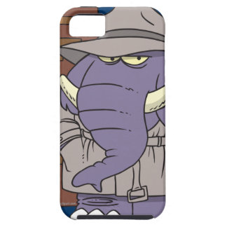 PI private eye spy sneaky elephant iPhone 5 Cases