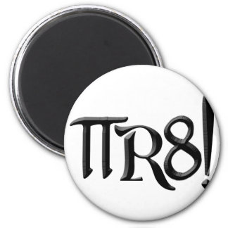 PI R8 - PIRATE SPELLED THE GEEK WAY MAGNETS