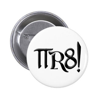PI R8 - PIRATE SPELLED THE GEEK WAY PINBACK BUTTON