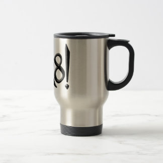 PI R8 - PIRATE SPELLED THE GEEK WAY TRAVEL MUG