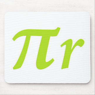 Pi R Squared or Round? Mouse Pad