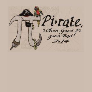 Pi•rate Pi Day Shirts and Gifts shirt