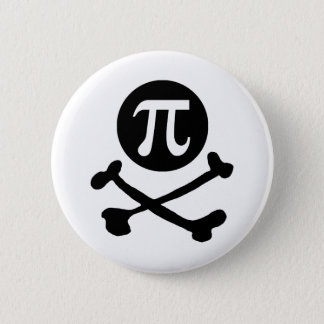 Pi-rate Pinback Button