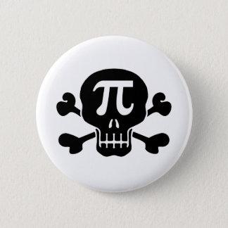 Pi rate pinback button