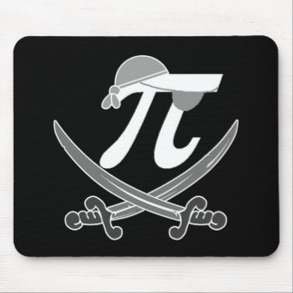 Pi - Rate pirate Mouse Pad