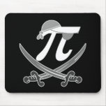 Pi - Rate pirate Mousepads