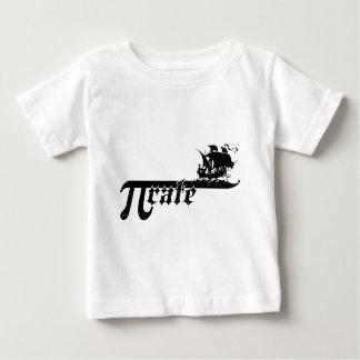 Pi rate ship t shirt