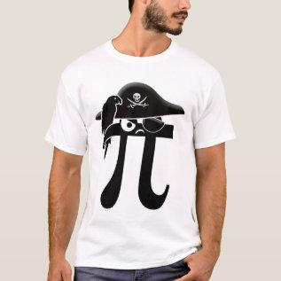Pi-rate T-shirt at Zazzle