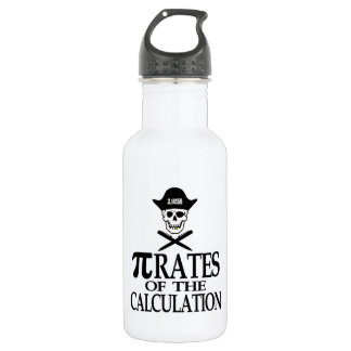 Pi-Rates of the Calculation Water Bottle