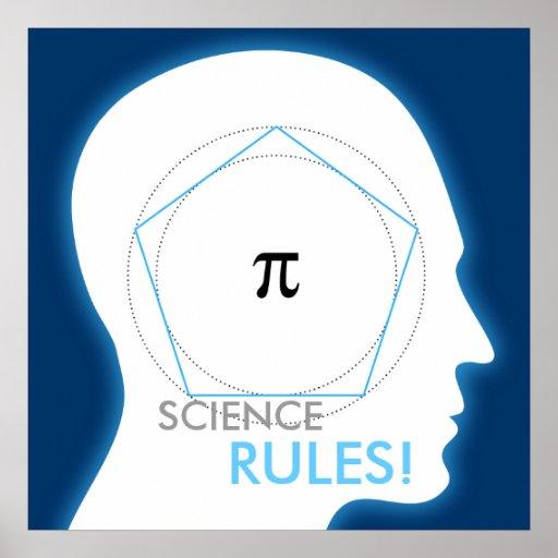 Pi - ¡REGLAS de la CIENCIA! - poster de la