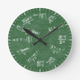Pi Reloj Redondo Mediano