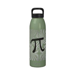 Pi retro botellas de beber
