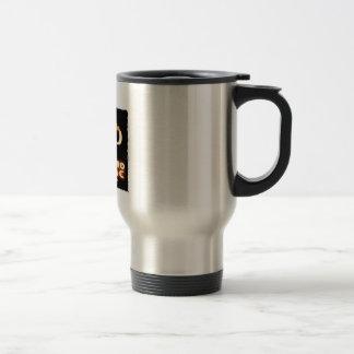 Pi - Rho MANIAC - FLAMED  GREEK LETTERS (PYRO) Travel Mug