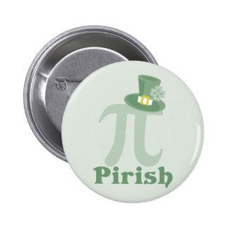 """""""Pi-rish"""" 2 Inch Round Button"""