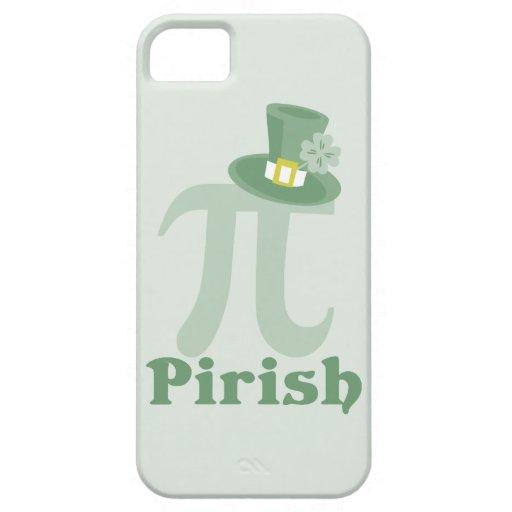 """""""Pi-rish"""" iPhone 5 Funda"""