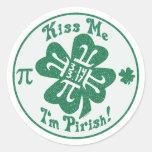 Pi-Rish Party Gear Sticker