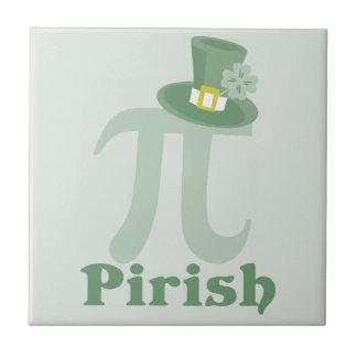 """""""Pi-rish"""" Small Square Tile"""