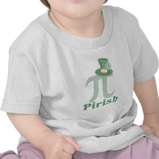 """""""Pi-rish"""" Tee Shirts"""