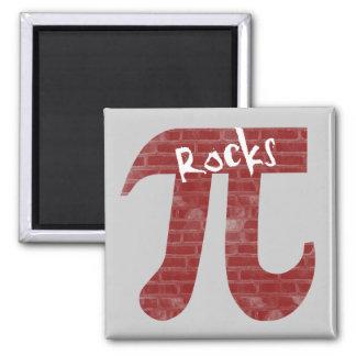 Pi Rocks Fridge Magnets
