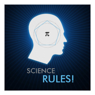 Pi - SCIENCE RULES | Math Poster
