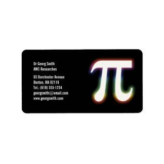 Pi - Scientist Label