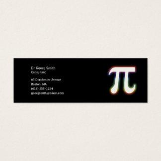 Pi - Scientist Mini Business Card