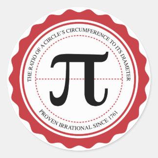Pi Seal Sticker
