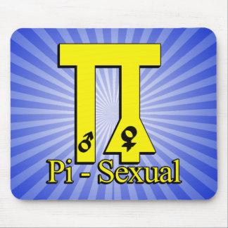 Pi-Sexual Funny Pi Mouse Pad