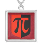 Pi Shield Necklace
