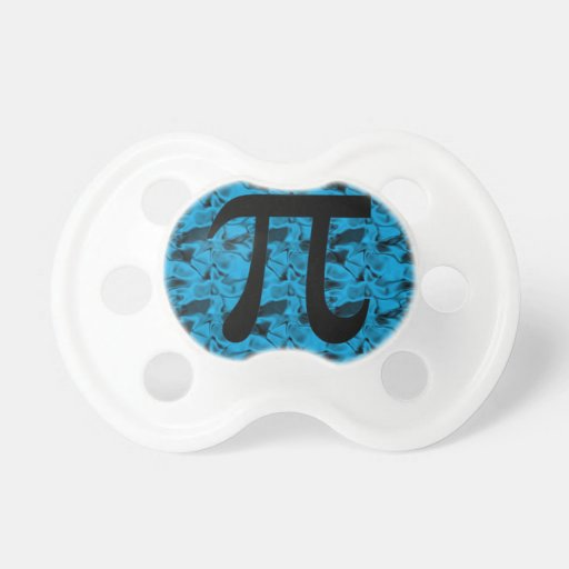 Pi Sign Baby Pacifiers