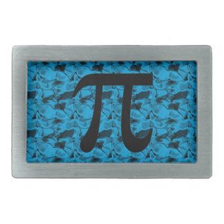 Pi Sign Rectangular Belt Buckle