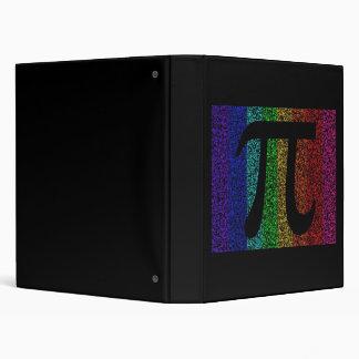 Pi Sign Black Binder