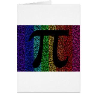 Pi Sign Black Card