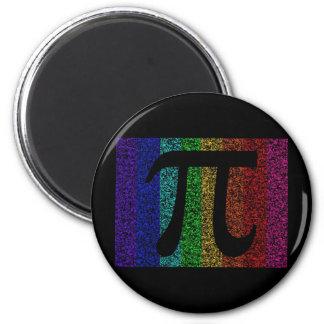 Pi Sign Black Magnets
