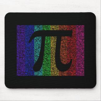 Pi Sign Black Mouse Pad