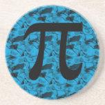 Pi Sign Coasters