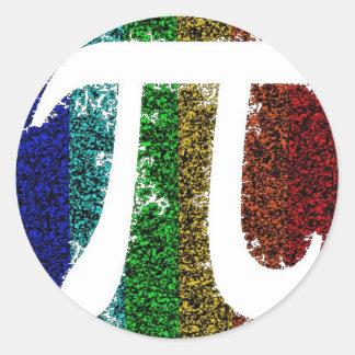 Pi Sign Electric Classic Round Sticker