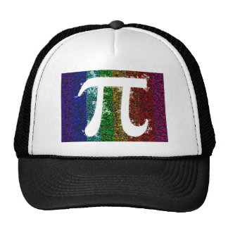 Pi Sign Electric Mesh Hats